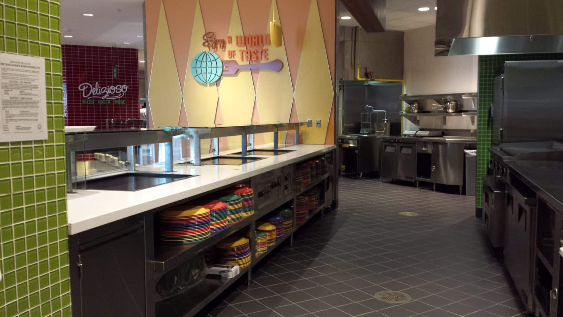 Cabana Bay Resort Kitchen Design