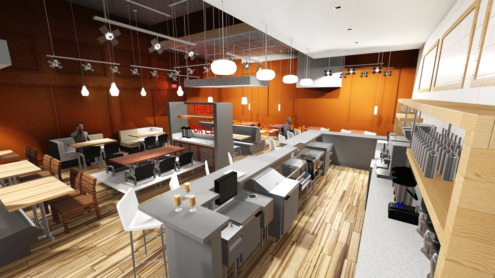 REVIT 3D Kitchen Design